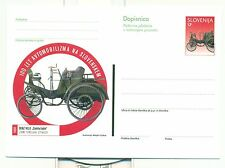 VOITURES CLASSIQUES - SLOVENIA 1998 Entier Postal Postal Stationery Card
