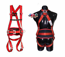 3-point Full body harness Fall protection Climbing belt Roofer Scaffolding