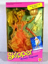 NIB BARBIE DOLL 1991 SKIPPER BEAUTY PAGEANT