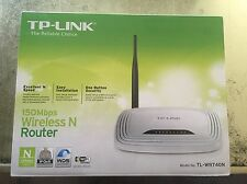 TP-LINK TL-WR740N 150MBPS Wireless N Router Brand New Sealed