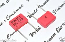 10pcs- WIMA MKC4 0.1uF (0,1µF 100nF) 400V 5% pitch:15mm Polycarbonate Capacitor