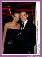 PHOTO de PRESSE , 2006 : SARAH MARSHALL & JEAN-CLAUDE JITROIS -I190