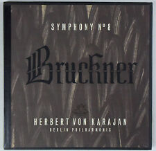 KARAJAN Bruckner Symphony No. 8 ANGEL 3576 B (2-LP) Box Set NM!