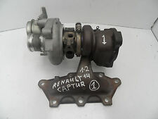GENUINE RENAULT CAPTUR 2013-2016 0.9 1.2 TCE TURBO CHARGER 144103742R No.1