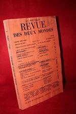 La nouvelle REVUE DES DEUX MONDES MARS 1976