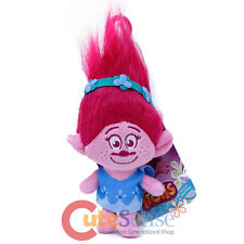 Dreamworks Trolls Poppy Plush Doll Key Chain Coin Bag Backpack Clip On