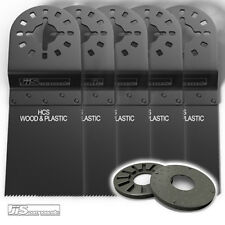 5 FEIN MULTIMASTER BOSCH DRAPER *** BLADES 34MM WOOD & PLAS FREE DRAPER ADAPTER