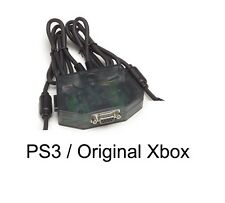 X-Arcade 2in1 Game Console Adapter: Use 2 Players On PS3 or 1st Gen Xbox
