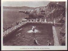 1928  --  LA PISCINE ET LES BAINS DE L EDEN ROC AU CAP D ANTIBES  Z788