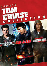 TOM CRUISE COLLECTION: TOP GUN..M:I-3..GHOST PROTOCOL (DVD) NEW..SHIPS FREE!!