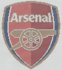 Arsenal Shield Counted Cross Stitch Kit