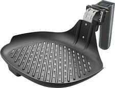 Philips - Viva Collection Airfryer Grill Pan Accessory - Black