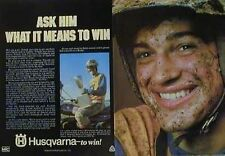 1976 HUSQVARNA RACING Ad Ask Him What It Means To Win