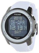 PULSAR PQ2015 CLASSIC WORLD TIME CHRONO ALARM DAY & DATE MEN'S WATCH