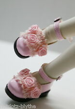 NEW Custom Mary Jane, Shoes For Mini Super Dollfie MSD - M 601, Baby Pink
