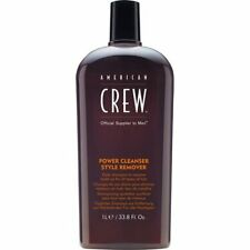 AMERICAN CREW POWER CLEANSER STYLE REMOVER DAILY SHAMPOO 33.8 OZ / 1L