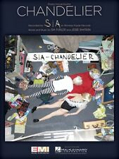 Chandelier Sheet Music Piano Vocal Sia NEW 000137954