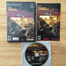 Sniper Elite rare Playstation 2 PS2 System Complete Game