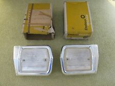 * NOS 1965 Chevy II Nova SS Rear Tail Light Back up Lamps Lens GM 910903 910904