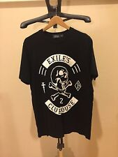 Authentic TOPMAN EXLIE'S CLUBHOUSE SKULL BONES TEE T SHIRT SIZE LARGE L SUPREME