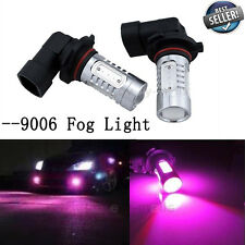 2X LED FOG LIGHT 9006 9012 HB4 7.5W Pink Replacement Bulb DRL Daytime Lights Y1