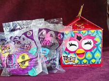 "(6) ©2013 McDonald's ""Furby Boom"" Happy Meal Toys & Box"
