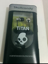 Skullcandy Titan In Ear Bud (Black/Chrome)