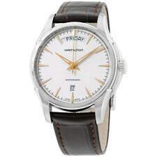 Hamilton Jazzmaster Silver Dial Stainless Steel Mens Watch H32505511