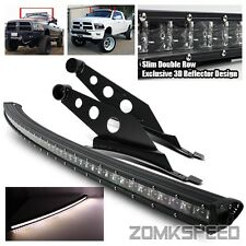 09-16 Ram 1500/2500/3500 288W Curved Slim PHILIPS LED Light Bar/Mounting Bracket