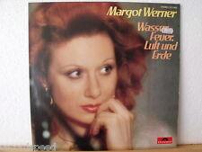 """★★ 12"""" LP - MARGOT WERNER - Wasser Feuer Luft Und Erde (Prod. ABI OFARIM)"""