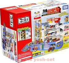 TAKARA TOMY TOMICA World Scene Super Auto Car Parking Building Set EMS Shipping