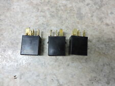 08 Triumph Daytona 675 black electrical relays relay set unit