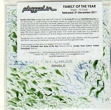(EQ715) Family Of The Year, St Croix - 2011 DJ CD