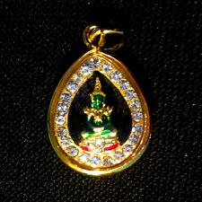 Buddha Thai Amulets Phra Kaew Morakot Pendant Charm Magic Protect Lucky Success