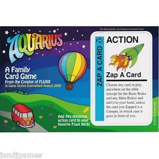 """FLUXX card game """"Zap A Card"""" promo Aquarius Looney Labs Games NEW"""