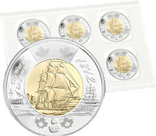 2012 $2 toonie WAR of 1812 HMS SHANNON PACK of 5 Sealed Royal Mint Canada