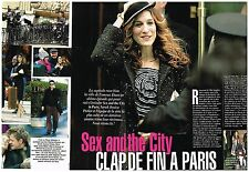 Coupure de presse Clipping 2004 (2 pages ) Sex and the city clap à Paris