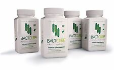 4 BACTICURE PROBIOTIC NATURAL,8 BILLION CFUs, ULTRA STRENGHT,ULTIMATE FLORA