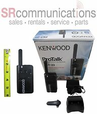 KENWOOD PROTALK LT PKT-23 UHF 1.5 WATT 4 CHANNEL RADIO COMPACT WAREHOUSE RETAIL