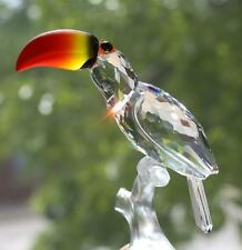 Swarovski Crystal Toucan Figurine Colorful Beak Eyes 7621 NR000 006 Box COA Bird