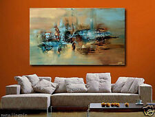 "24x48"" Modern Abstract hand-painted Art Oil Painting Wall Decor canvas"