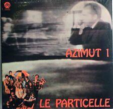 Le Particelle-Azimut 1 Italian prog lp reissue brand new
