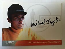 UFO AUTOGRAPH CARD Michael Jayston as Russell Stone MJ1