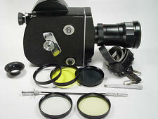 16mm movie cam Krasnogorsk-3 M42 Kit With lens.Box and leather case. s/n 9200199