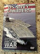 U.S. Navy Carriers - Weapons of War - DVD and Book