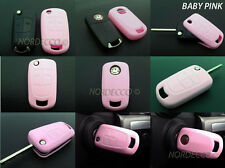 SILICONE KEY FOB PINK PROTECTOR CASE OPEL VAUXHALL ASTRA CORSA VECTRA ZAFIRA B/P