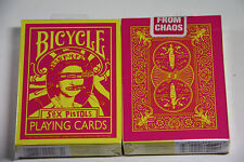 1 deck BICYCLE SEX PISTOLS God Save The Queen playing cards