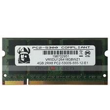 4GB PC2-5300S PC2-5300 DDR2 667Mhz 200pin DDR2 SoDIMM Laptop Memory Double Sided