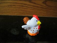 Fisher Price Little People farm barn NEW spotted hen chicken rooster brown white