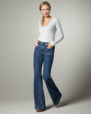 """$218 J BRAND ANTHROPOLOGIE """"BETTE"""" FLARE JEANS NWT! 32, 12/14"""